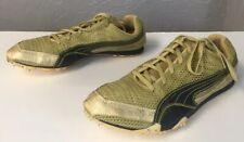 Puma Complete Harambee ll Sz 10 Mesh Metallic Gold Track Training Running Shoes