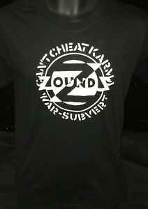 Zounds 'Can't Cheat Karma' NEW Black T Shirt, punk,anarchy,crass *8X Diff Sizes!