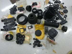 KAWASAKI NEW & USED RUBBER GROMMETS, BOOTS & BANDS Many Models 1970,s 80,s