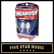 HEAROS 211 High Fidelity Series Ear Plugs with Case - NEW!! HS211