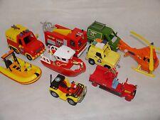 Fireman Sam Vehicles_Figures_TITAN_JUPITER_VENUS_QUAD_VAN_BESSIE_Buy 4-Free Post