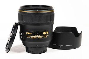 Nikon Nikkor AF-S 35mm f/1.4 G FX Full Frame Lens