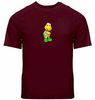 Unisex Tee T-Shirt Mens Women Print Shirts Gift Koopa Turtle Super Mario Cartoon