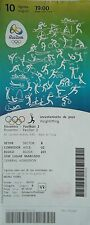 TICKET 10.8.2016 OLYMPIA RIO Olympic Games sollevamento pesi Weightlifting # 19:00