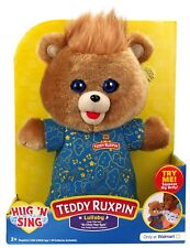 Teddy Ruxpin Hug N Sing Interactive Stuffed Bear Toy Exclusive Free Shipping