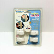 Safety 1st Magnetic Tot Lok Deluxe Starter Set 1 Key 4 Locks NEW