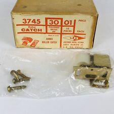 Vintage Jumbo Roller Catch Door Cabinet Hardware NEW NOS New Old Stock Jaybee