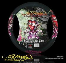 3 pcs of ED HARDY CAR/TRUCK/SUV STEERING WHEEL COVER