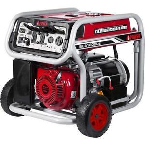 12,000 Watt Gasoline Portable Generator w/ Electric Start SUA12000E