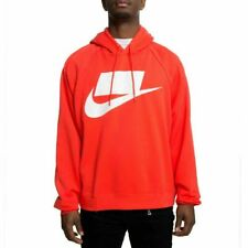 MENS LARGE TALL LT NIKE THERMA DRI-FIT PULLOVER HOODIE 932009 010 BLACK WHITE