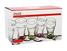 COCA COLA 1613100 Scatola di 6 Bicchieri Colore Trasparente Base