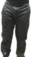 KARTING PANTS - ABRASION RESISTANT BLACK W/LOGO - INVENTORY REDUCTION SALE