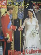 Royalty Magazine William & Catherine Royal Wedding 2011 Souvenir Edition
