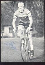 HENNIE KUIPER cyclisme radsport cp Vélo dedicace ROKADO