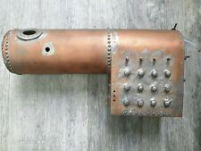 """Model Live Steam Copper Boiler 1 1/2 """" ? Guage"""