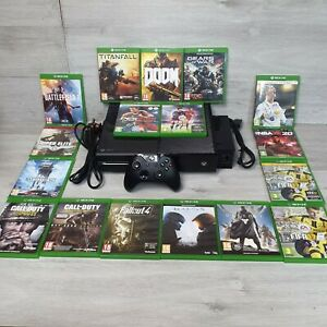 Xbox One console 500gb Bundle - Console controller & 17 Games tested and working