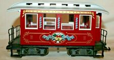 RARE BEAUTY LGB 35075 SEASONS GREETINGS RED CHRISTMAS PASSENGER COACH~Excellent