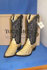 TONY MORA Boots Stiefel python  westernstiefel cowboystiefel  gr. 42  neu leder