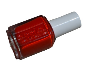 NEW Essie nail polish lacquer in HIKING HEELS #1169 ~ Scorching hot lava red