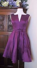 AlisaPan Short Purple Formal Evening Bridesmaid Party Dress Size 0 / 2 / 4