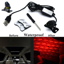 Car Meteor Star ABS LED Ambient Ceiling Light USB Interior Galaxy Lamp Projector