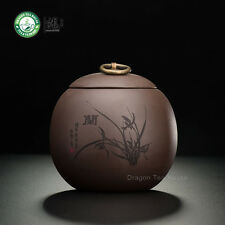 Thé brun Main Yixing Yixing argile Orchid Caddy Café Traîneau 500ml 16.9 oz