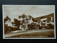 More details for scotland lochearnhead post office & war memorial c1929 rp postcard by valentine