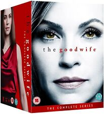 THE GOOD WIFE 1-7 (2009-2016) COMPLETE TV Drama Seasons Series NEW UK DVD not US