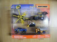 Matchbox 2020 Sets SkyBuster RWR Set Misson Force Construction Crew Baustelle
