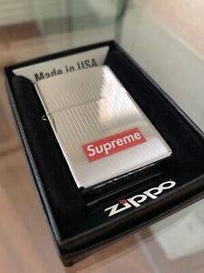 Supreme Silver Zippo