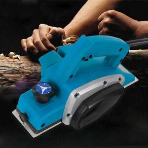 800W Electric Wood Planer Door Plane Hand Held Woodworking tool Tools AU STOCK