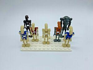 LEGO® Star Wars Battle Droiden sw0092 sw0095a sw0001c sw0300 sw0228 sw0096 sw448