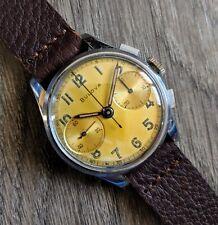 Vintage 1940s BULOVA Professional Chronograph 13AK Valjoux 23, SERVICED