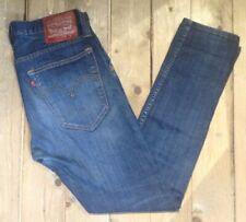 Rare Levi's 520 Red Stitch Denim Jeans. W34 L32 Ref 50017