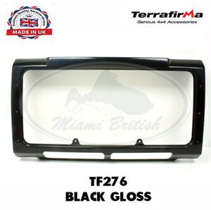LAND ROVER RADIATOR GRILLE FRAME BLACK GLOSS DEFENDER TF276 ASJ710060 TF