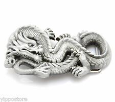 Asian Chinese Dragon Metal Fashion Belt Buckle