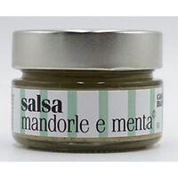 Salsa Mandorle e Menta © 120gr - Superba condimento Specialità Gourmet Siciliana