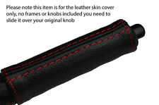 RED STITCH HANDBRAKE HANDLE LEATHER COVER FITS NISSAN 300ZX Z31 1984-1989