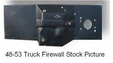 "1940 1947 Direct Sheet Metal Ford Truck Small Block Firewall Pad W/ 2"" Setback"