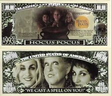 Hocus Pocus - Disney Movie Million Dollar Novelty Money