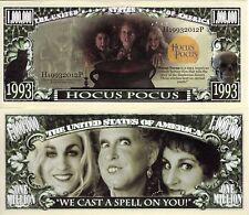 Hocus Pocus Movie Million Dollar Novelty Money