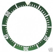 BEZEL INSERT FOR OMEGA SEAMASTER JAMES BOND FIT 41MM CASE GREEN PART