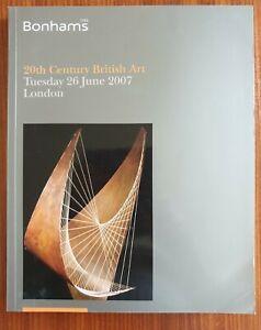 Bonhams - 20th Century British Art - June 2007 ~ Hepworth/Moore/Kyffin Williams