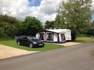 Bradcot Full Awning and Annex with Easy Alloy Poles - Good Condition, Size 970.