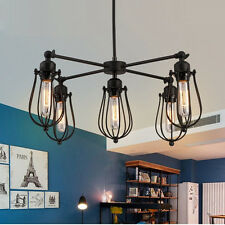 Bar Chandelier Lighting Vintage Pendant Light Kitchen Ceiling Lamp Hotel Lights