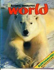 National Geographic World Magazine 1991 January