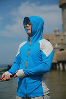 2018 Men Fishing Shirts Sun-protect Long sleeve Suit Mask Hooded Fishing Clothes