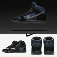 Nike SB Dunk High Pro Black Blue 881758-001 SIZE 7-12 Skateboard Shoes LIMITED