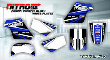 YAMAHA PW 50 PW50 PEE WEE Graphics Kit Decal Design Stickers Motocross MX Enduro