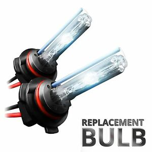 Two Xentec Xenon Lights HID Conversion Kit 's Replacement Bulbs with Wire & Plug